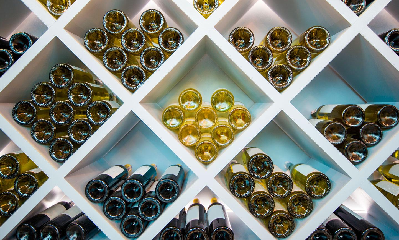 gran varietat de vins