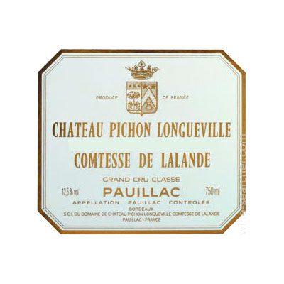 Château Pichon Longueville Cómtesse 2003