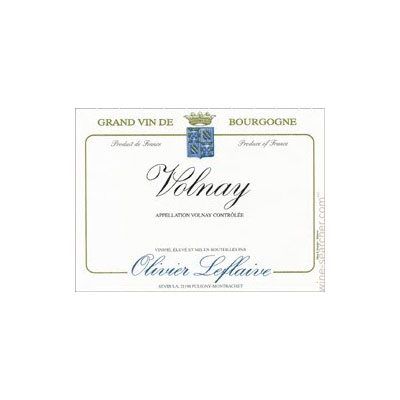 Volnay 2010 Olivier Leflaive