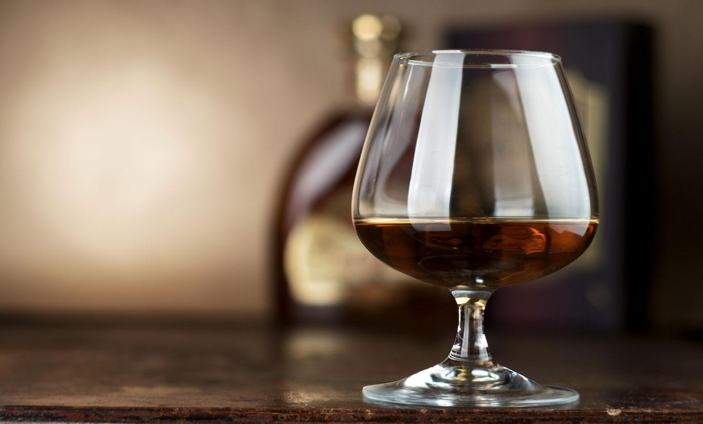 menu cognac i brandi